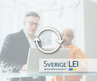 Sverige LEI - överför LEI